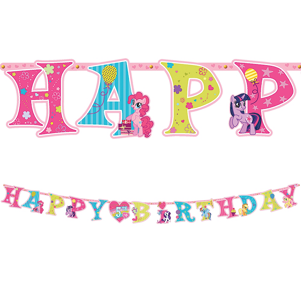 My Little Pony Birthday Banner 10ft | Party City