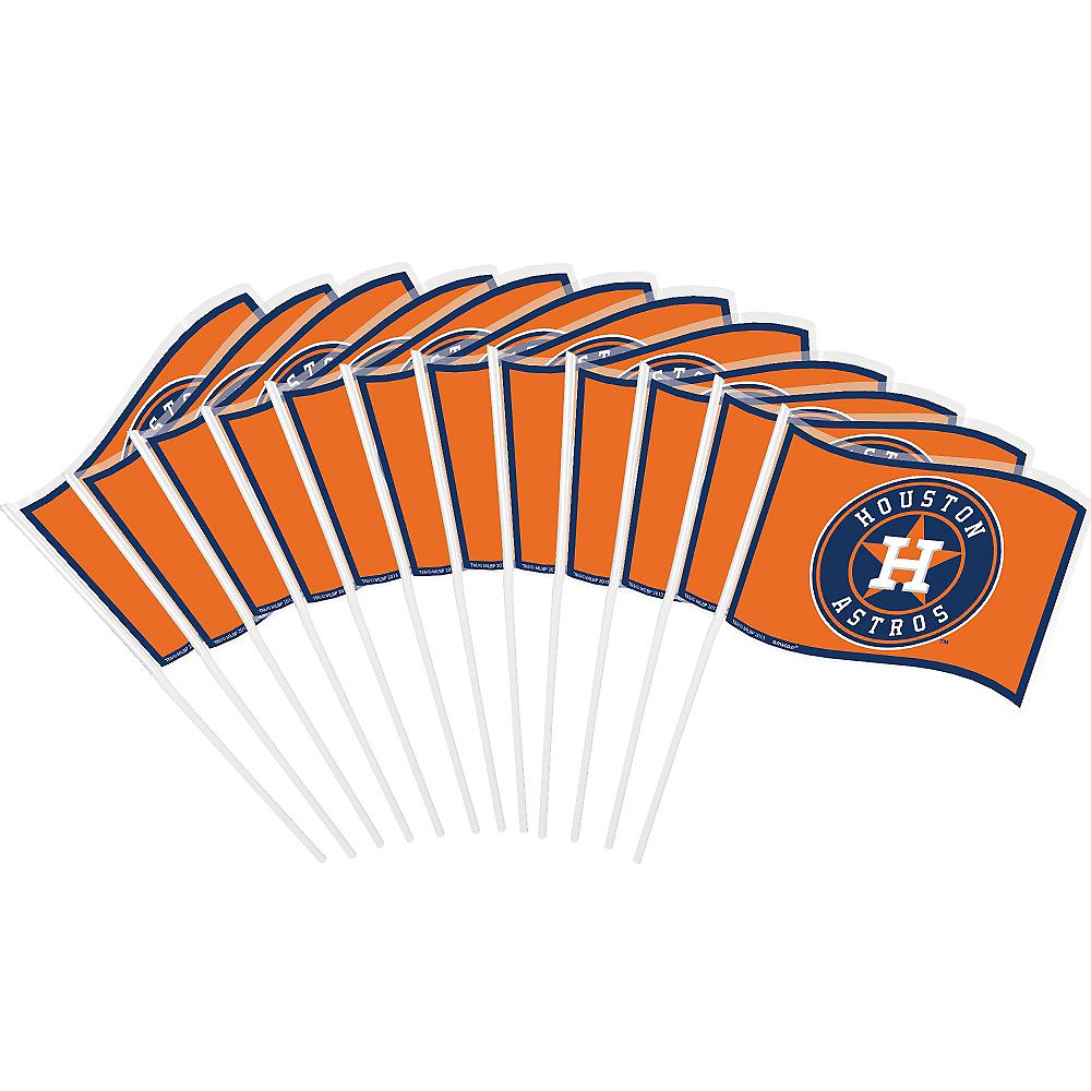 Houston Astros Mini Flags 12ct Image #1