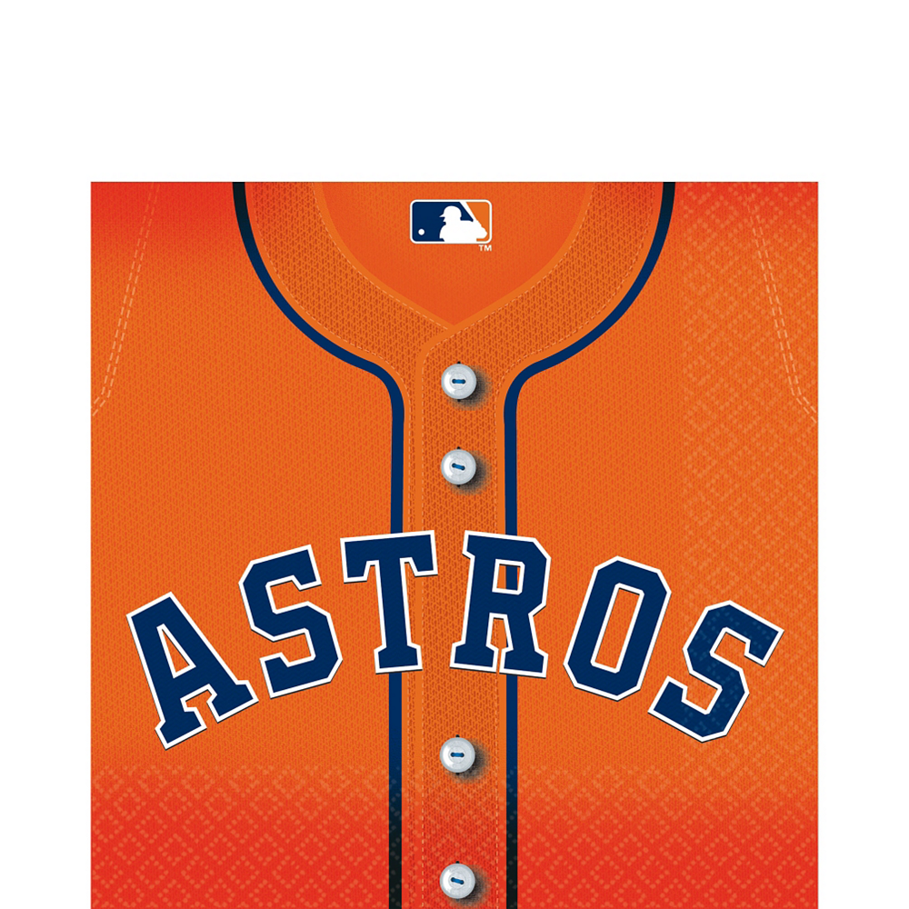Houston Astros Lunch Napkins 36ct Image #1