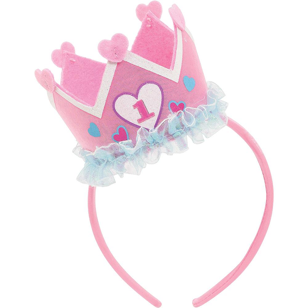 Princess 1st Birthday Headband Image #2