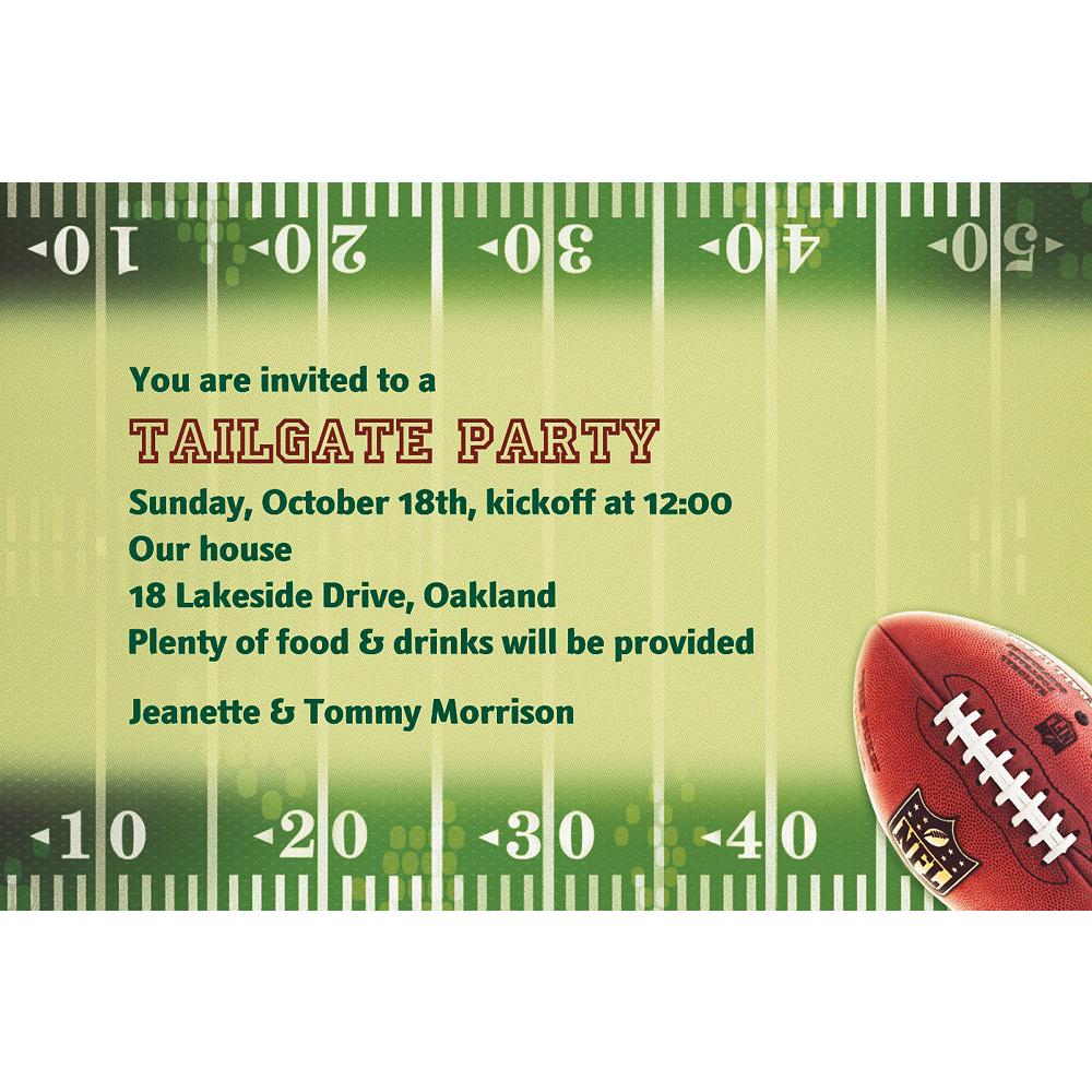 Custom NFL Drive Invitations Image #1