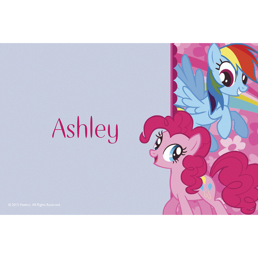 Custom My Little Pony Friends Thank You Notes  Image #1