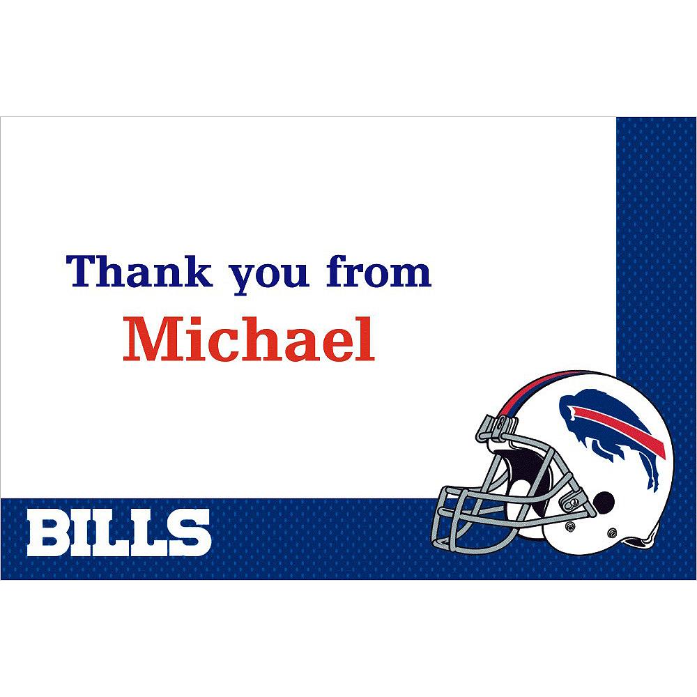 Custom Buffalo Bills Thank You Notes Image #1
