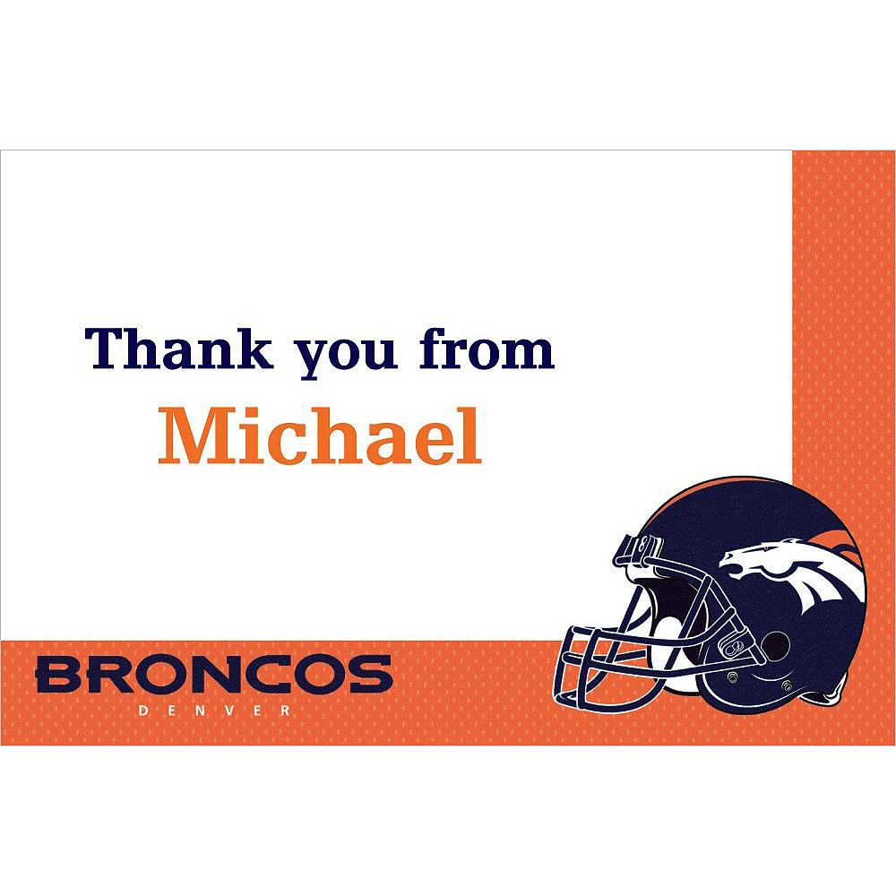 Custom Denver Broncos Thank You Notes Image #1