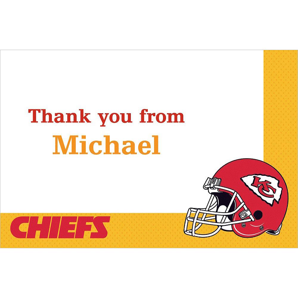Custom Kansas City Chiefs Thank You Notes Image #1