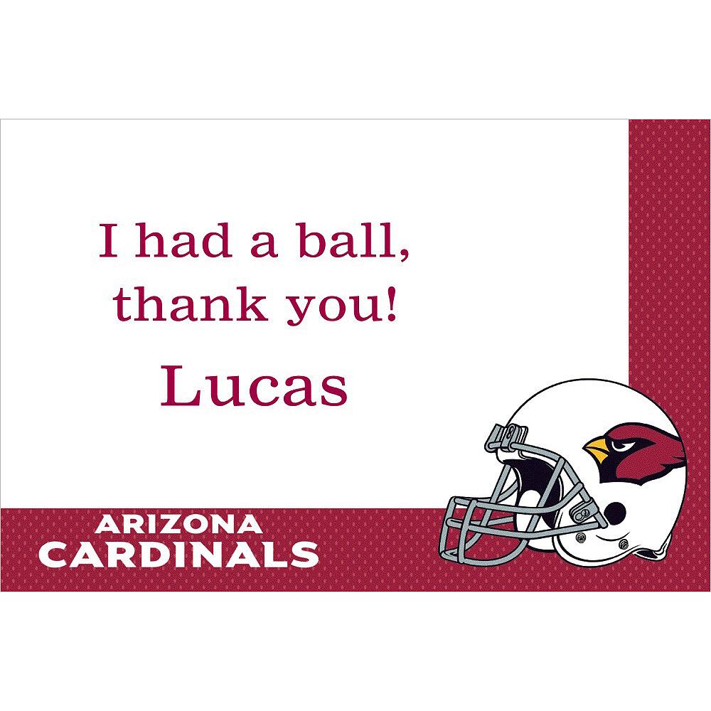Custom Arizona Cardinals Thank You Notes Image #1