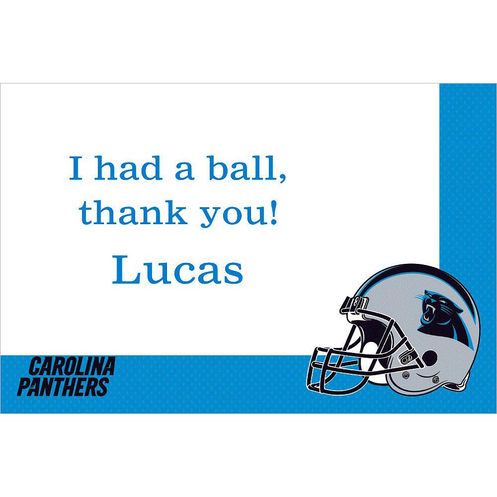 Custom Carolina Panthers Thank You Notes Image #1