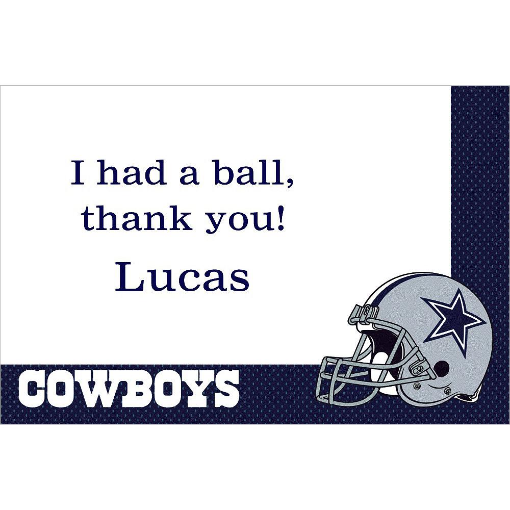 Custom Dallas Cowboys Thank You Notes Image #1
