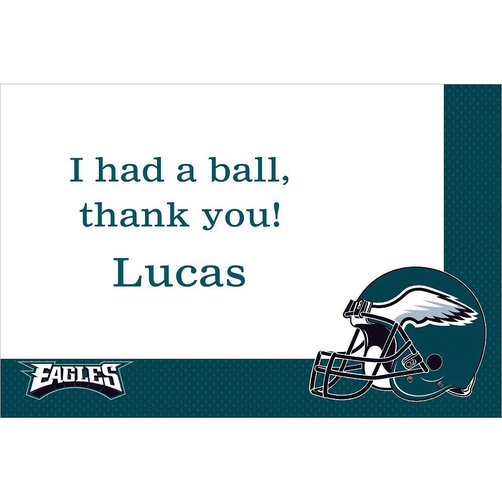 Custom Philadelphia Eagles Thank You Notes Image #1