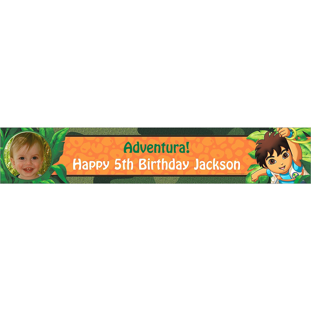 Custom Diego's Biggest Rescue Photo Banner 6ft Image #1
