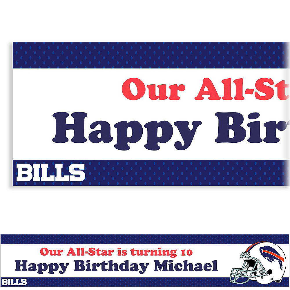 Custom Buffalo Bills Banner 6ft Image #1