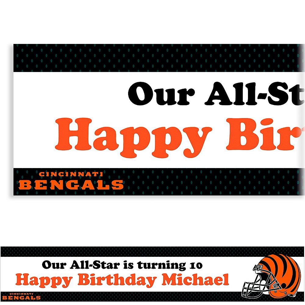 Custom Cincinnati Bengals Banner 6ft Image #1