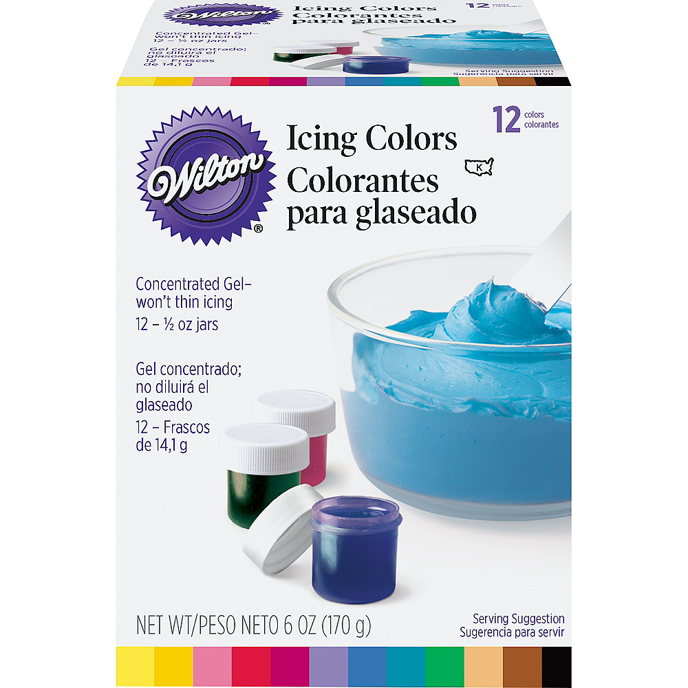 Wilton Color Icing Kit 12ct Image #1
