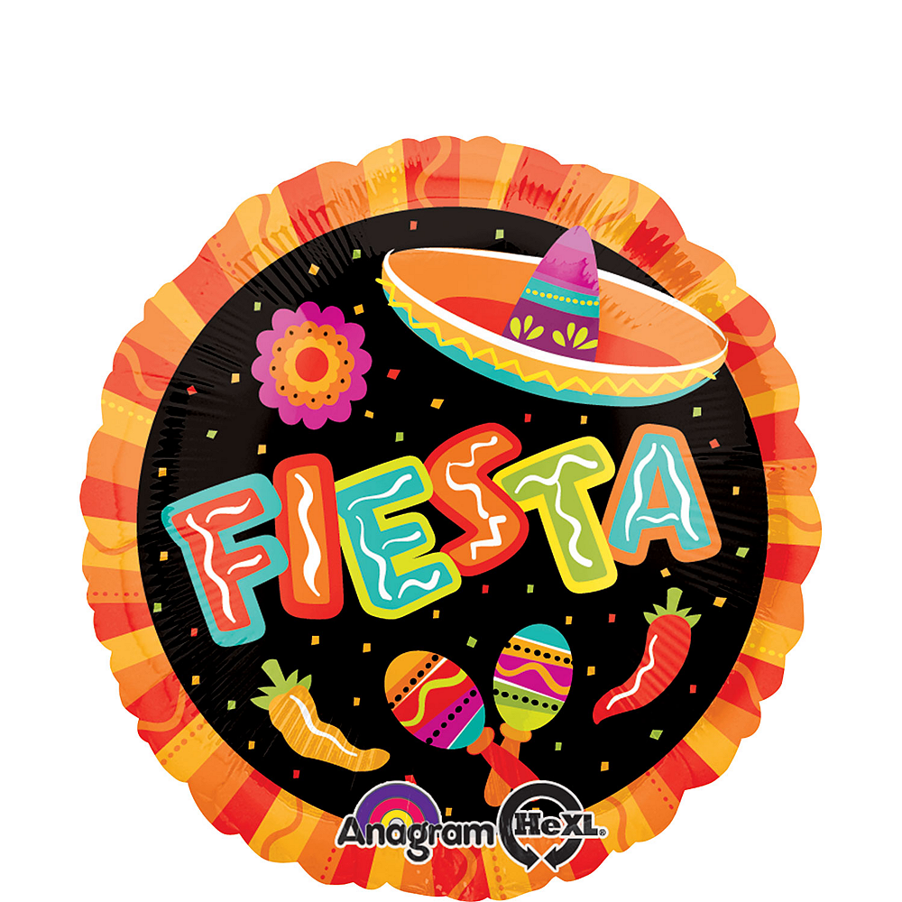 Fiesta Balloon - Round, 17in Image #1