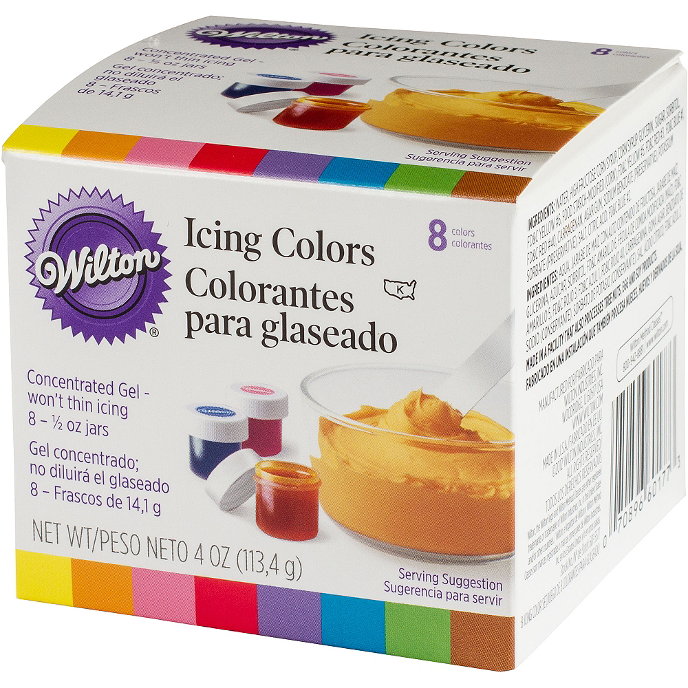 Wilton Color Icing Kit 8ct Image #1