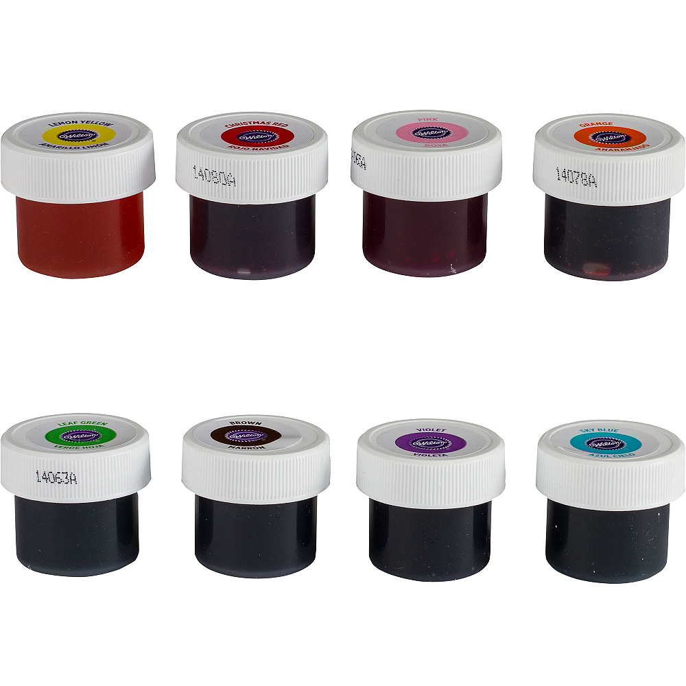 Wilton Color Icing Kit 8ct Image #2