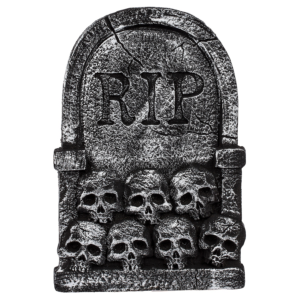 Nav Item for Skulls Tombstone Decoration Image #2