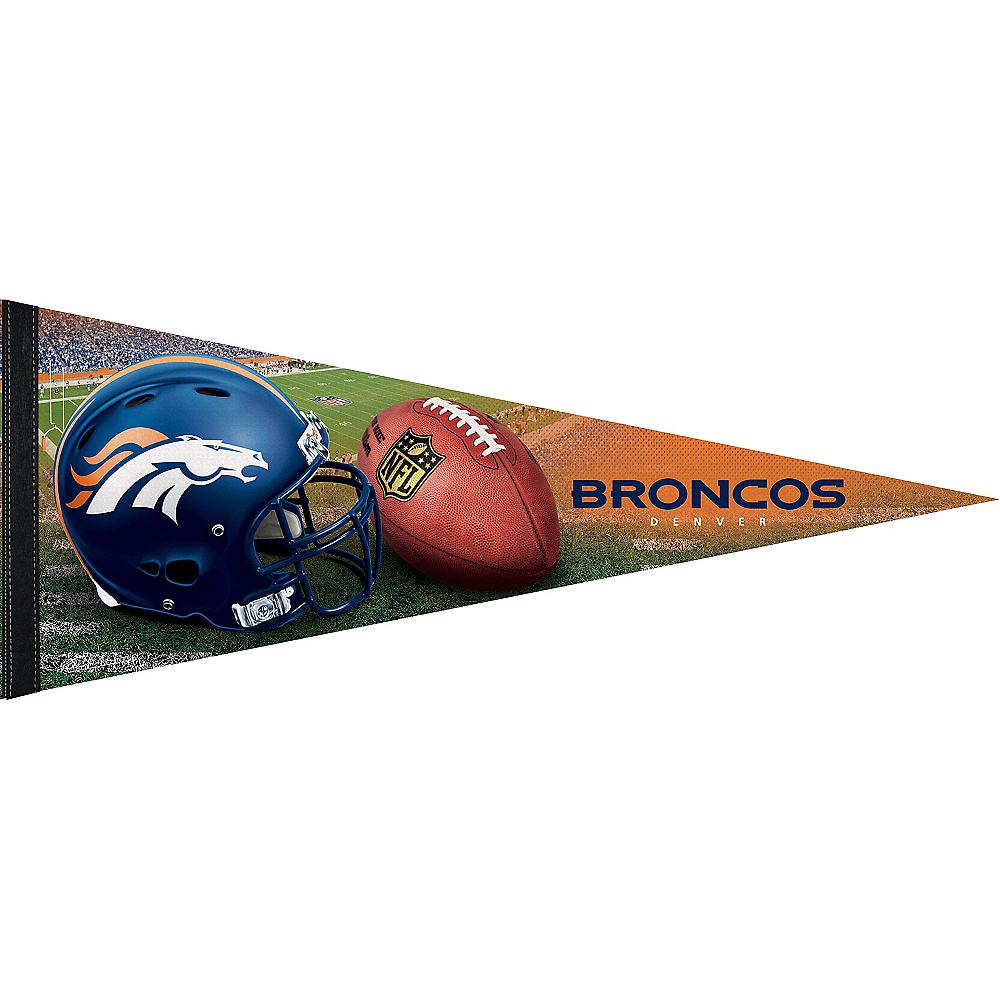 Denver Broncos Pennant Flag Premium Image #1