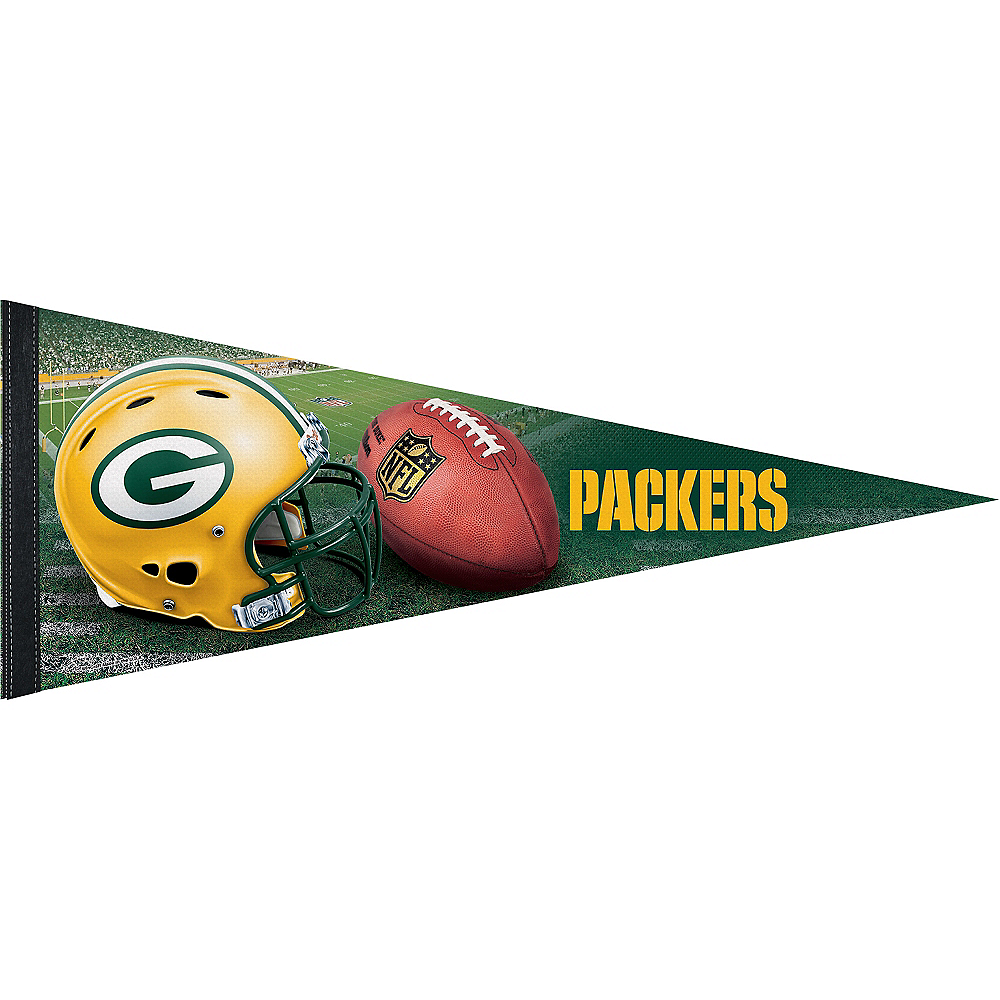 Premium Green Bay Packers Pennant Flag Image #1