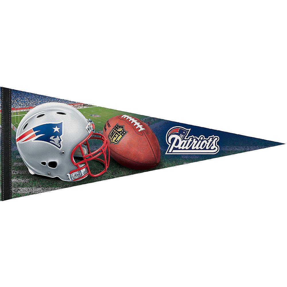 New England Patriots Pennant Flag Premium Image #1