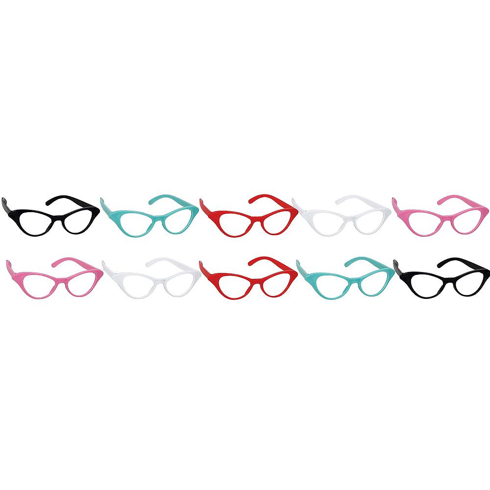 c0a2696c98b Classic 50s Cat Eye Glasses 10ct Image  1