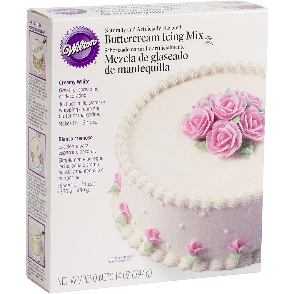 Nav Item for Wilton White Buttercream Icing Mix Image #1