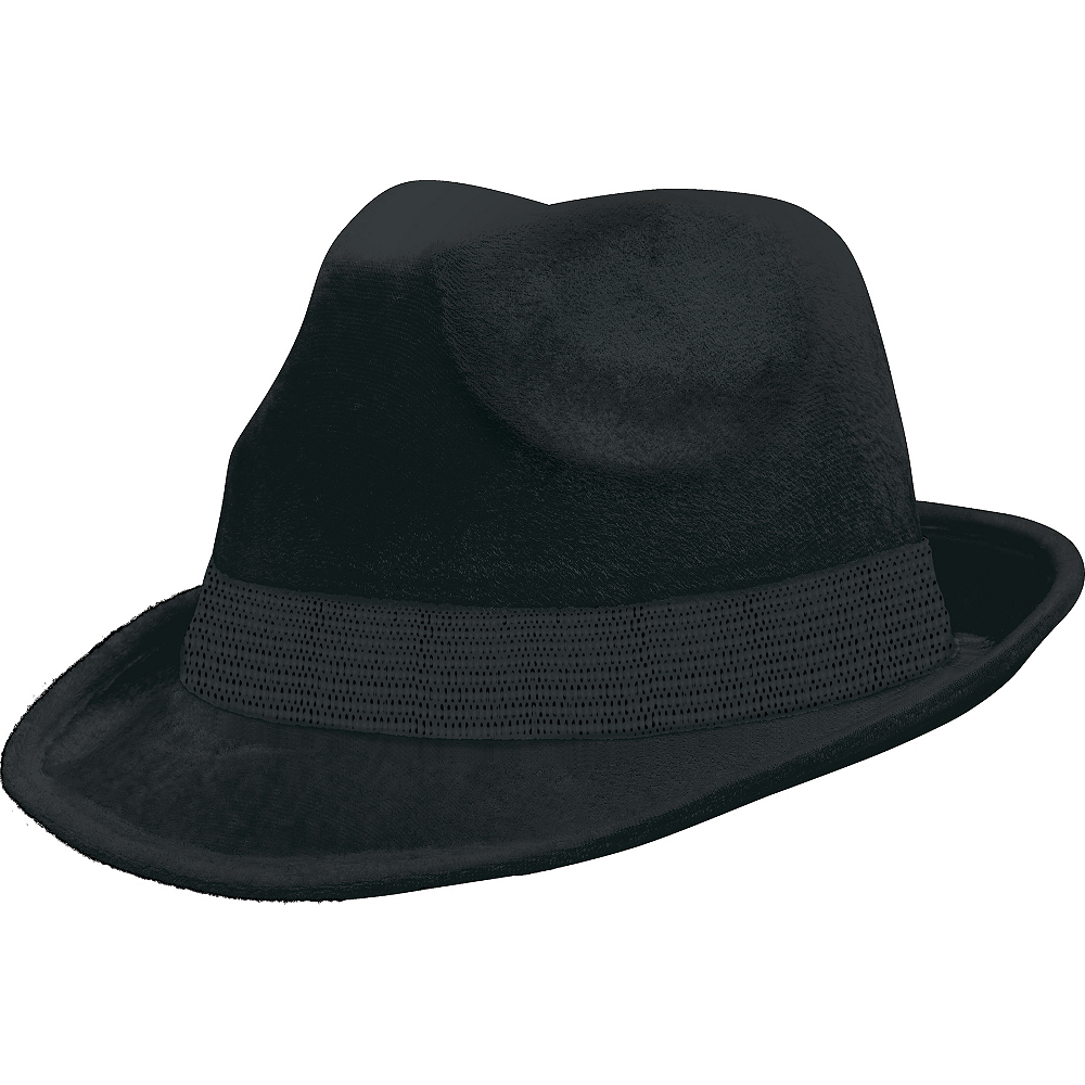Nav Item for Black Suede Fedora Image #1