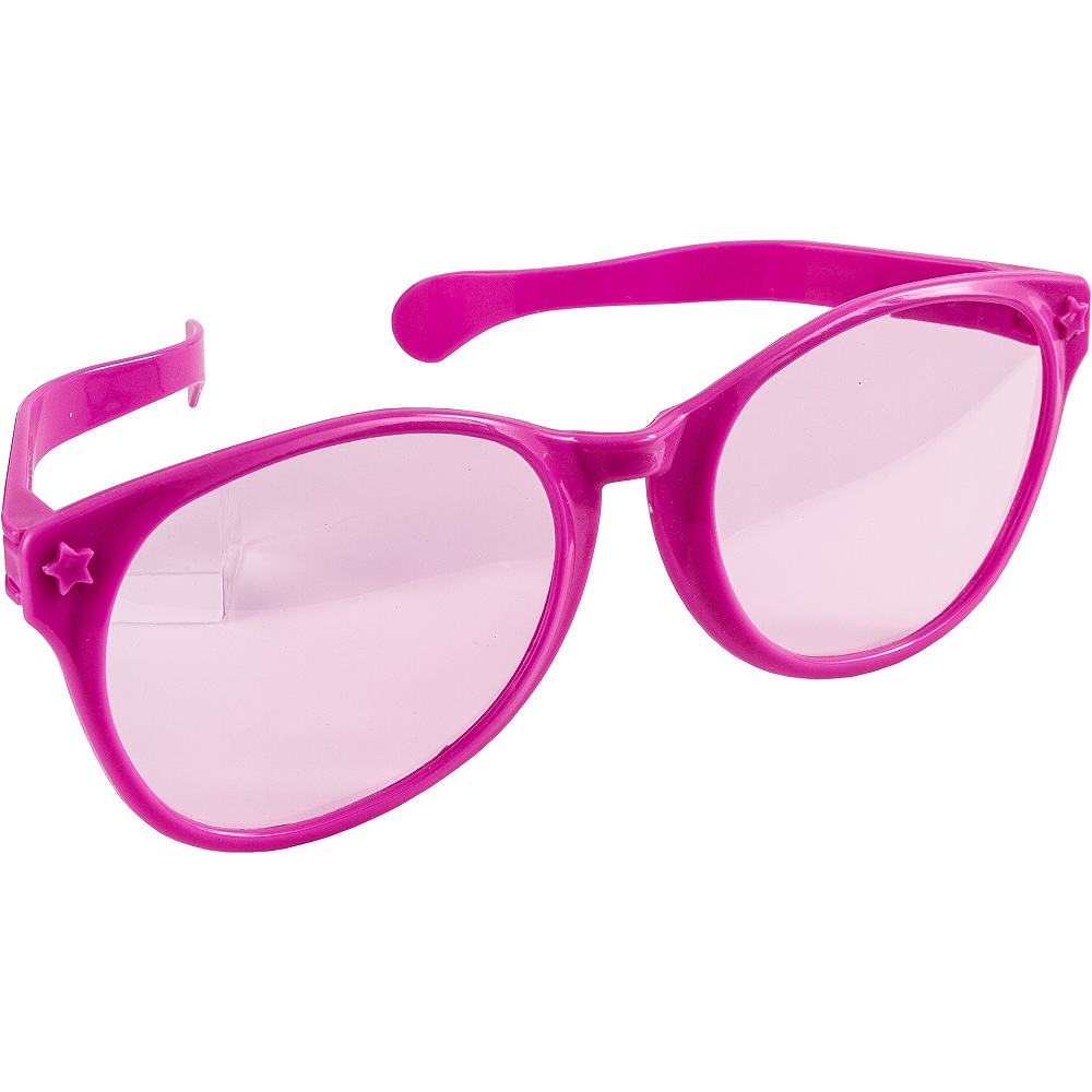 Pink Giant Fun Glasses Image #2