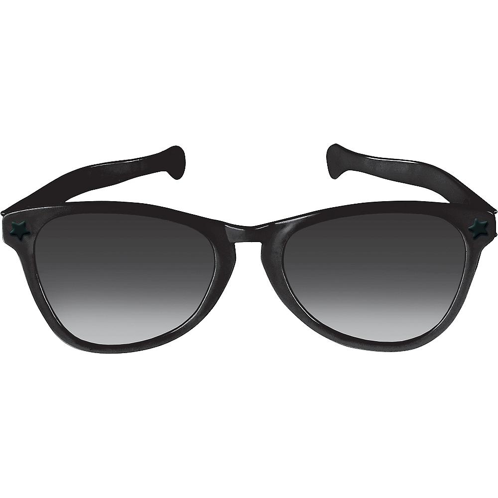 Black Giant Fun Glasses Image #1