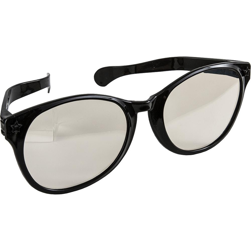 Black Giant Fun Glasses Image #2
