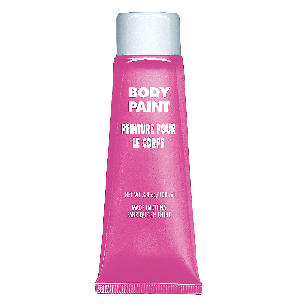 pink body paint 3 38oz party city