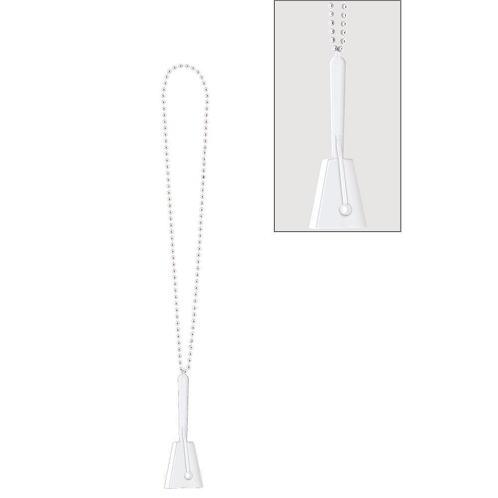 White Clacker Necklace Image #1