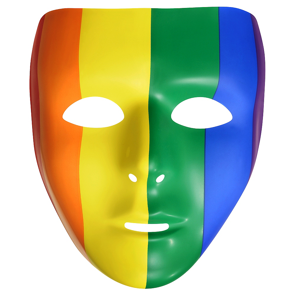 Nav Item for Rainbow Face Mask Image #1