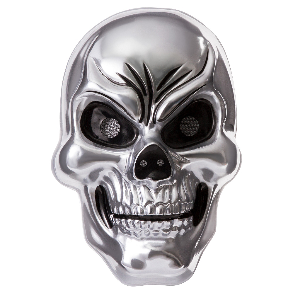 Nav Item for Silver Skull Mask Image #1