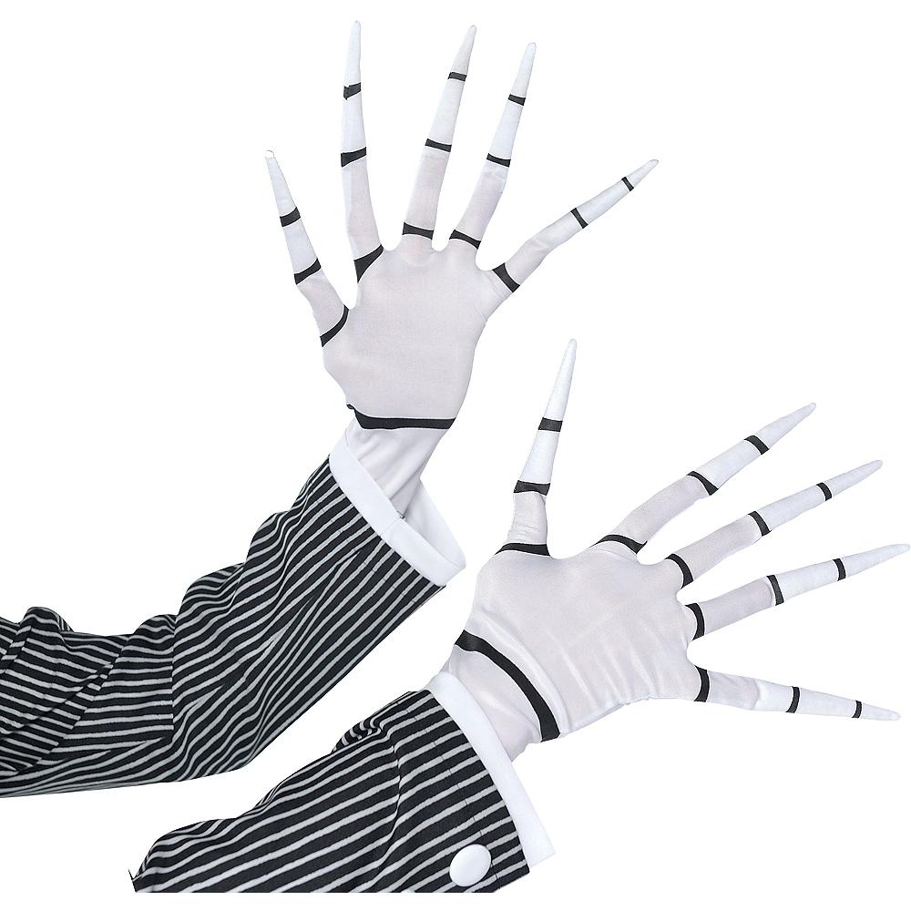 Adult Jack Skellington Gloves Image #1