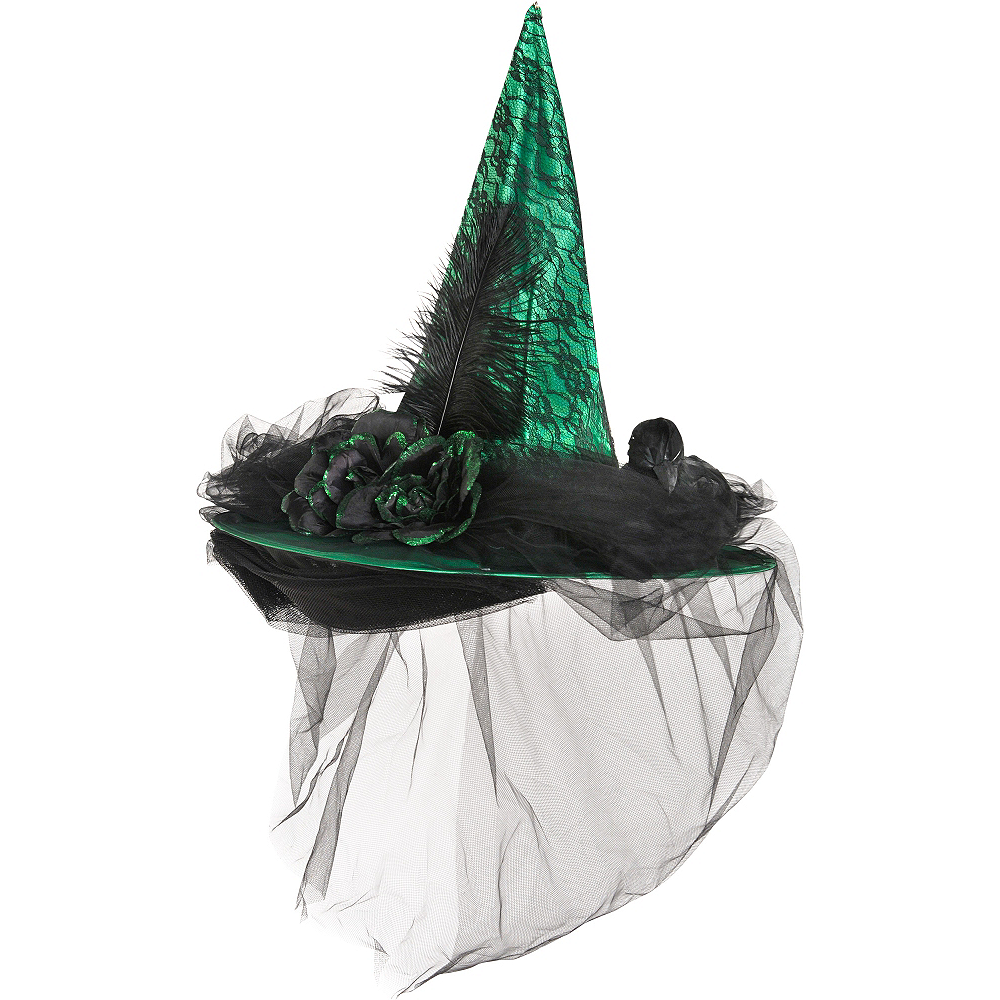 Green Witch Hat Deluxe Image #1