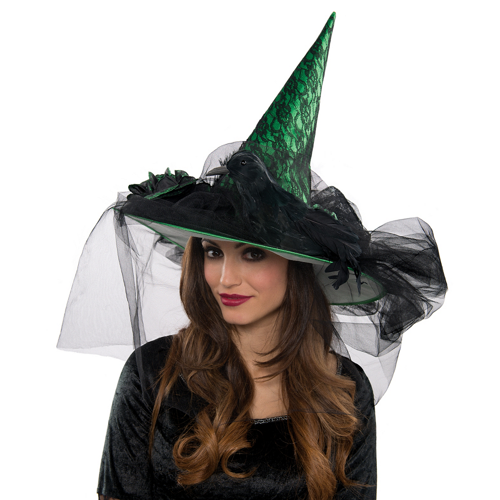 Green Witch Hat Deluxe Image #2