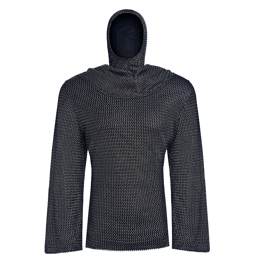 Adult Chainmail Tunic & Cowl Image #2