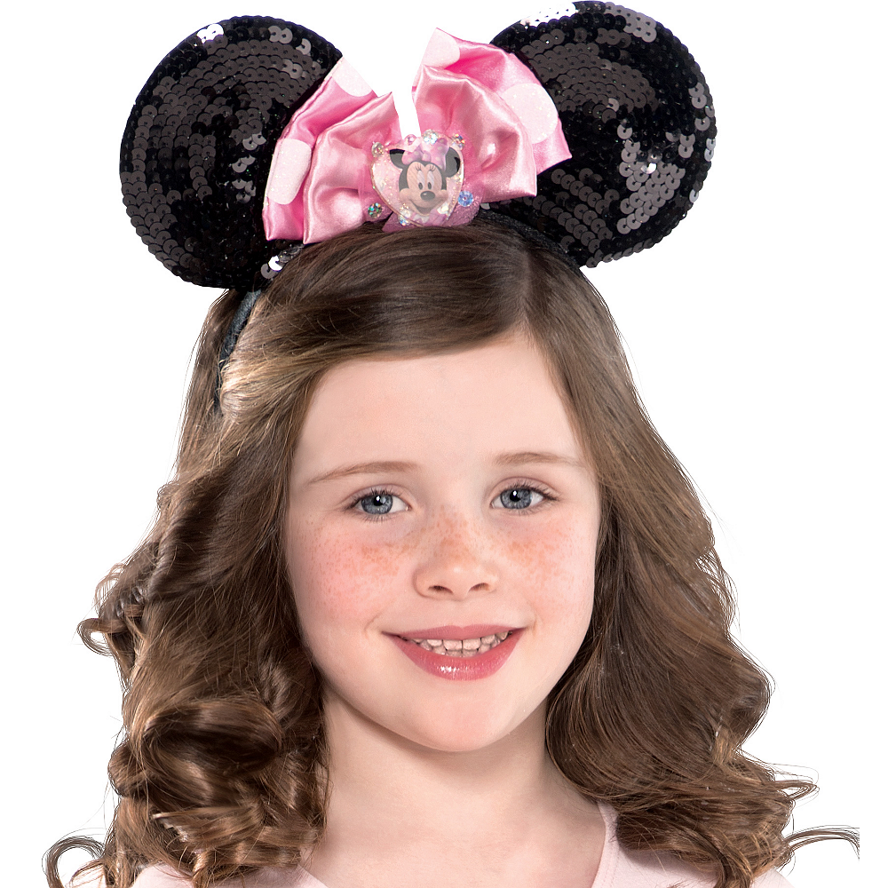 Child Sequin Minnie Mouse Ears Image #2