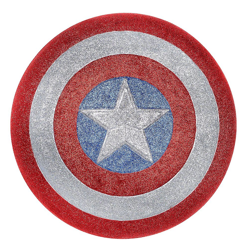 Child Glitter American Dream Shield Image #1