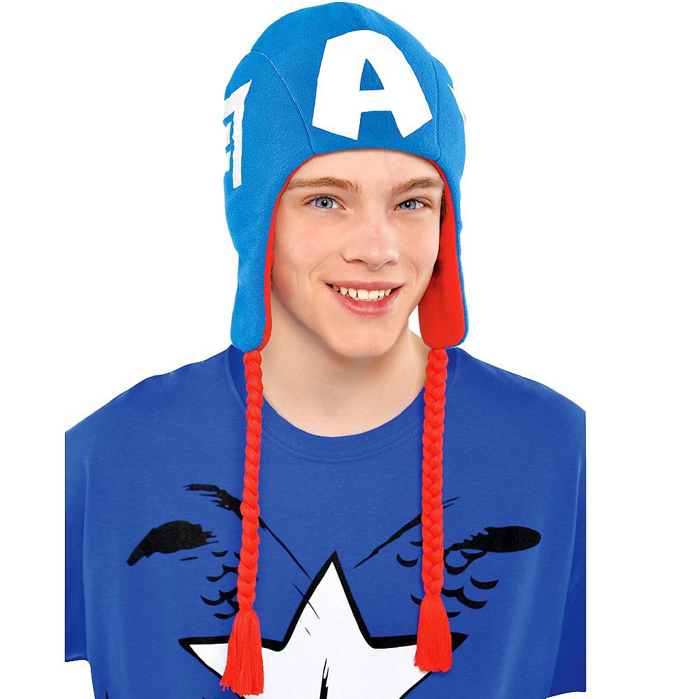 Captain America Peruvian Hat Image #2
