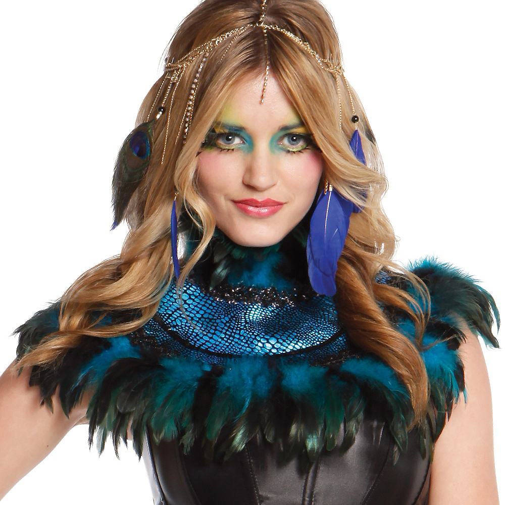 Peacock Feather Collar Image #2