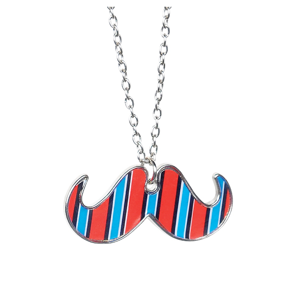 Geek Chic Mustache Necklace Image #1