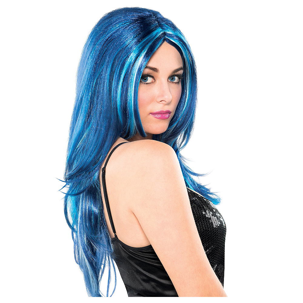 Blue Candy Wig Image #1