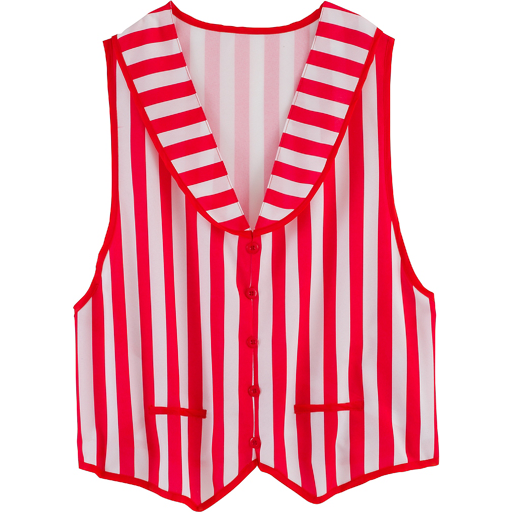 Adult Barber Shop Quartet Vest Image #2