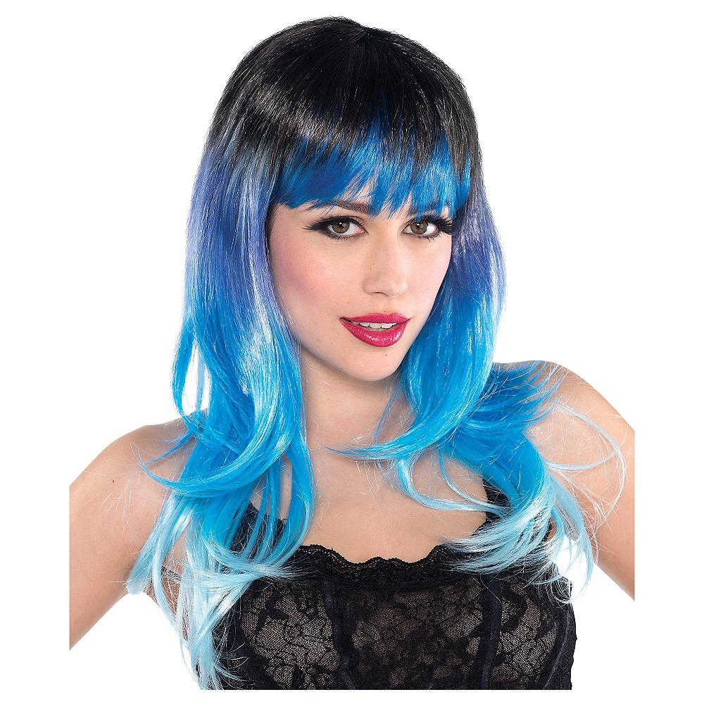 Fantasy Blue Wig Image #1