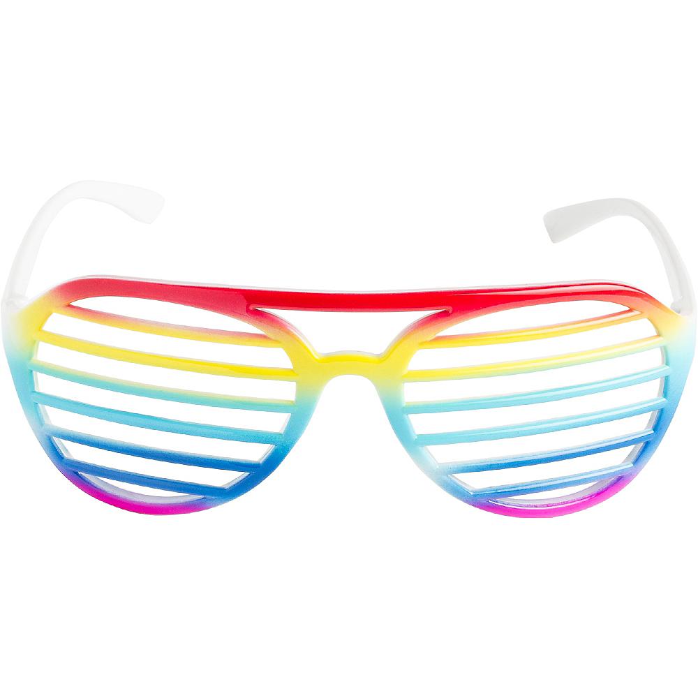 Rainbow Shutter Glasses Image #1