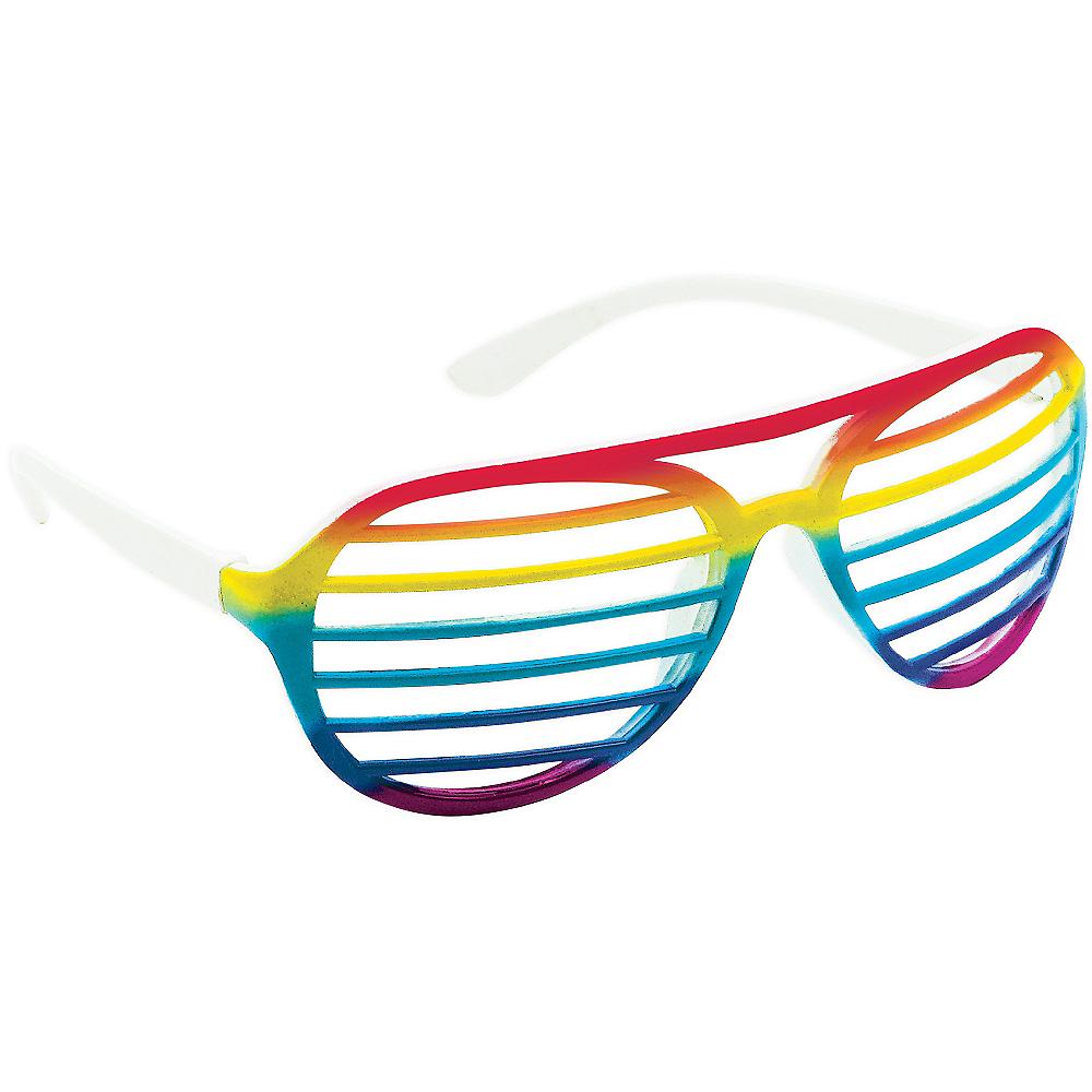 Rainbow Shutter Glasses Image #2