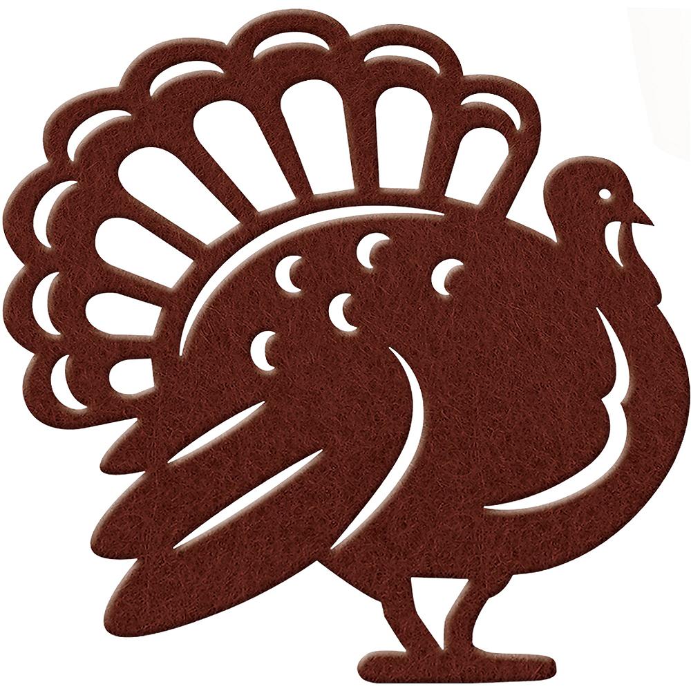 Felt Turkey Placemat Image #1