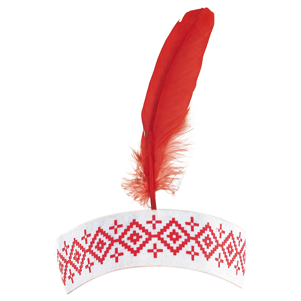 Thanksgiving Feather Headband Image #1